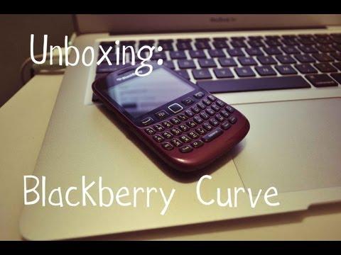 Unboxing: Blackberry Curve 9220