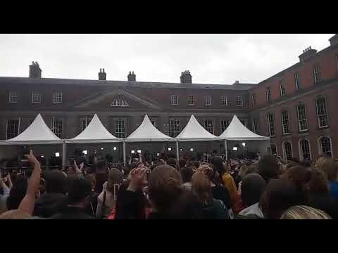 Ireland - Referendum results announcement at Dublin Castle - Repeal the 8th! - YES 26 May 2018