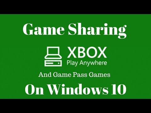 How to Do Game Sharing on Windows 10/Xbox One Play Anywhere Games [Family Sharing]