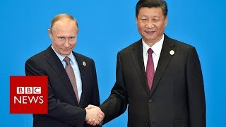 Trump: China and Russia rivals in