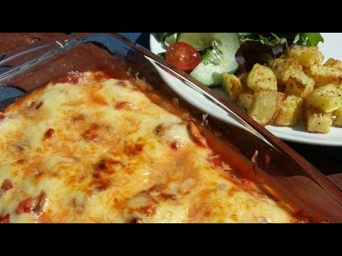 Cheesy Turkey Steak Bake | Slimming Recipe