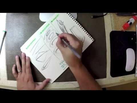 Industrial design sketching - Quick BiC pen exercises