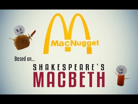 MacNugget - McDonald's food play MacBeth by Shakespeare