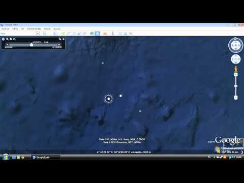 How to find the Titanic on Google Earth