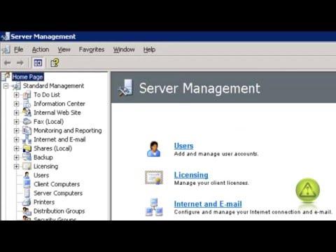 How to Create a VPN Server in Windows 2003 SBS
