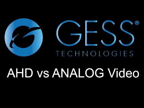 GESS:  AHD vs Analog Video Quality