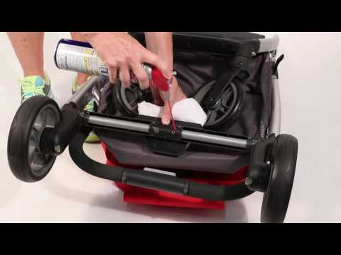 SERVICE IN SECONDS - Cleaning UPPAbaby CRUZ Brakes