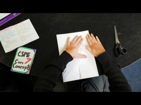 How to make a revision booklet A3 or A4