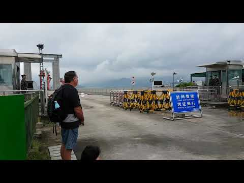 Guard change at 3 gorges dam