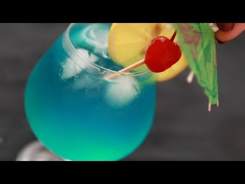 How To Prepare a Tasty Blue Hawaiian Cocktail - DIY Food & Drinks Tutorial - Guidecentral