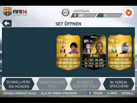 FIFA 14 iOS - 100k PACK OPENING! Messi or Ronado!?