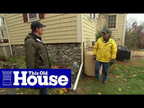 How to Drain Downspout Water Flow Away from a House - This Old House