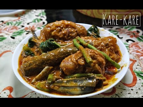 How to cook Kare-Kare