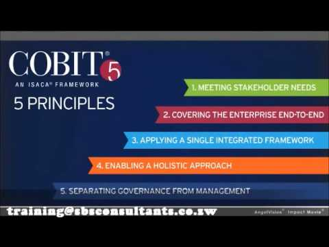 COBIT 5 Training - Meikles Hotel, Harare, Zimbabwe - 16 - 18 August 2015