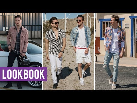 Men's Summer Lookbook with Alex Costa 2018 | Outfit Inspiration for Festival Fashion
