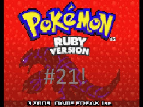 Pokemon Ruby Version  #21! BEAT THE ELITE 4!