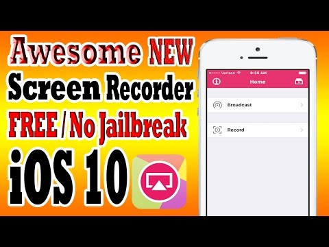 iOS 10 iPhone Screen Recorder AirShou [FREE] iOS 10-10.2 NO Jailbreak iPhone, iPad, iPod Touch
