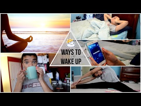 Ways to Wake Up | Get Out of Bed Quick in the Morning!