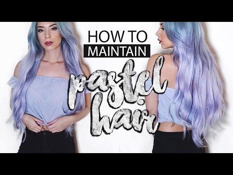 Pastel Hair - EASY DIY Spray in colour | LLimWalker