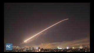 "U.S.-led strike on Syria ""flagrant violation of international law"": Syrian state media"