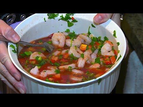 Mexican Shrimp Cocktail (Gazpacho) - Great Recipe