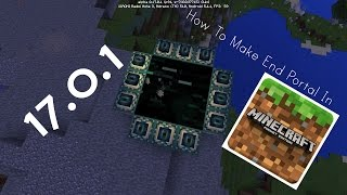 How To Make A End Portal In Minecraft Pocket Edition 10 Ender Dragon