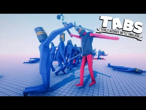 TABS NEW Armored Flail Knights! Totally Accurate Battle Simulator New Medieval Units (TABS Sandbox)