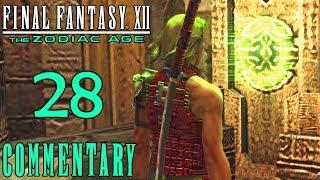 Final Fantasy XII The Zodiac Age Walkthrough Part 28 - Cultsworn Lich (PS4 Gameplay)