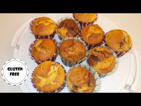Moist Gluten Free Marble Cakes