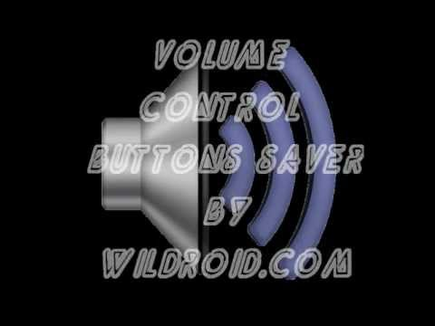 Volume Control Buttons Saver Android App  - Tablet and Phone Volume Control by Touch