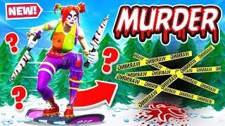 DRIFTBOARD Murder MYSTERY in Fortnite!