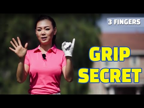 A Secret to Perfect Grip | Golf with Aimee
