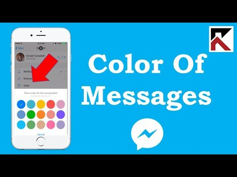 How To Change The Color Of Messages In Facebook Messenger