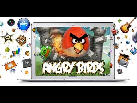 Mac App Store: First Look | Angry Birds for Mac!