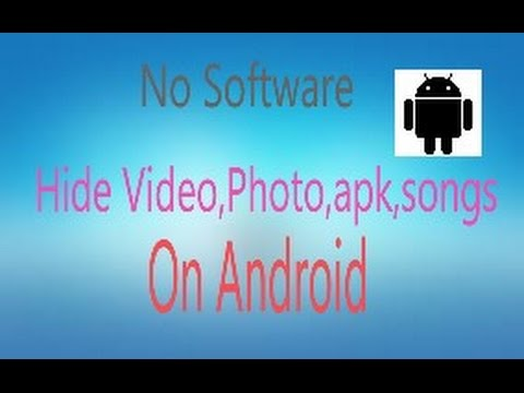 Hide Folder on Android || No Software || CB TECHNIC WORLD