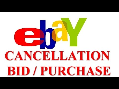 ebay cancellation bid and purchase