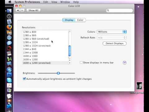 How to use Mac preferences  (Arabic & English)