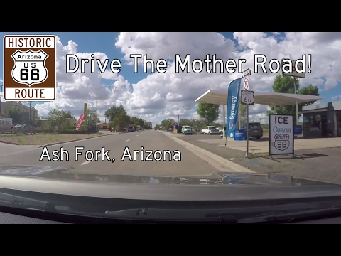 Historic Route 66 - Ash Fork - Arizona | Drive America's Highways 🚙