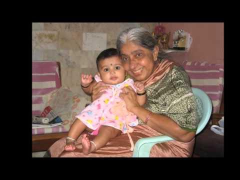 Daddyma's 80th birthday photo collage - by Varshini Kalyan