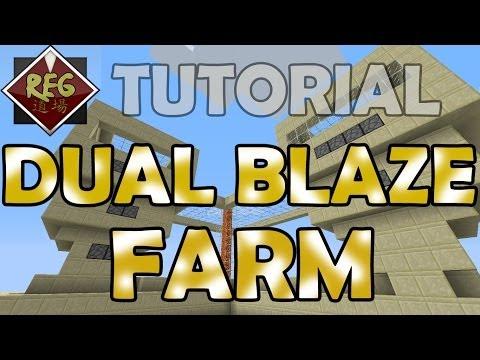 Tutorial: Dual Blaze Farm (Any Height/Position) 1.6.2