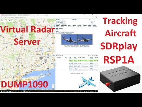ADSB - Tracking Aircraft With SDRplay RSP1A Running DUMP1090 and