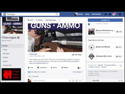Liking Facebook Pages as Your Business Page