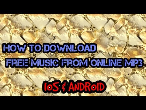 How to download music for free from online mp3 (FREE)