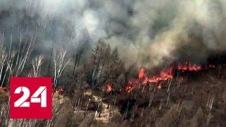 В Сибири и на Дальнем Востоке продолжается борьба с лесными пожарами - Россия 24