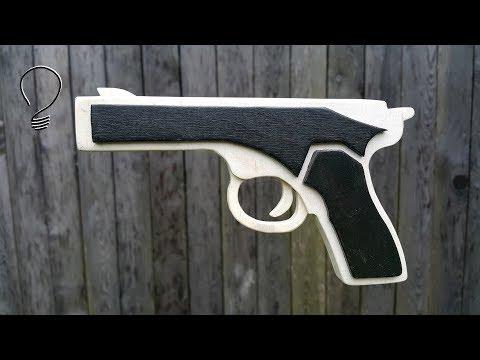 How To Make a Rubber Band Gun
