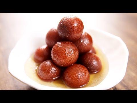 Gulab Jamun Recipe - How To Make Soft Gulab Jamuns At Home - Indian Dessert Recipe - Varun Inamdar