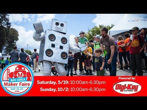Maker Faire Bay Area: Sunday 5/20