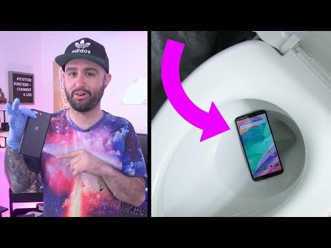 OnePlus 5T Water Torture Test... Does it Survive?!