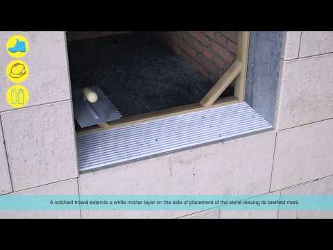 WINDOW SILLS. Stone Placing