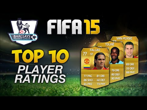 TOP 10 HIGHEST RATED BPL PLAYERS - FIFA 15 ULTIMATE TEAM